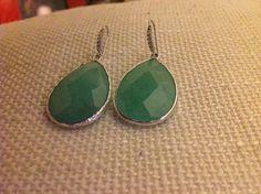 Orecchini pendenti a goccia verdi, by GIOBijoux, 22,00€ su misshobby.com