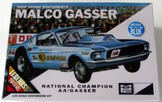 1967 Ford Mustang Malco AA/Gasser MPC/AMT #804 1/25 Scale New Car Model Kit - Shore Line Hobby
