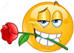 62764640-Charming-emoticon-holding-red-rose-flower-between-teeth-in-mouth-Stock-Vector.jpg (1300×952)