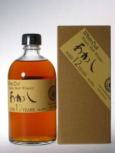 Eigashima (White Oak) Single Malt Whisky Akashi 12YO