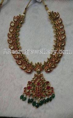 Chandbali Style Mango Necklaces