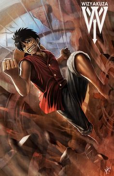 Monkey D. Luffy - One Piece - 11 x 17 impresión Digital