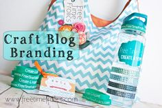 Free Time Frolics: Craft Blog Branding