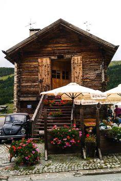 La tipica casetta di legno di #Livigno - #AdvetureDays 2014 #festival #outdoor #adventure