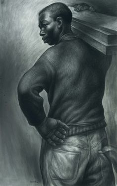 charles white artwok | ... art October 6. This amazing drawing by Charles White is one of those