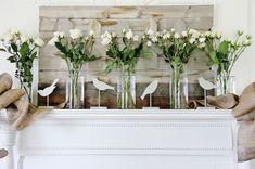 Mantel Decorating Ideas - Thistlewood Farm