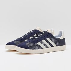 great fit 7cf22 aaa1d adidas Originals Gazelle Primeknit - Nemesi Blue
