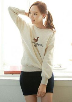 Buy Graphic Printed Sweater | mysallyfashion.com Malaysia