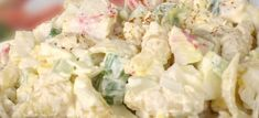 Everyone I know who has had this imitation crab salad recipe says it is one of their favorites. This Jo's Crab Pasta Salad recipe is absolutely delicious! Crab Pasta Salad, Seafood Salad, Pasta Salad Recipes, Seafood Dishes, Pasta Dishes, Seafood Recipes, My Recipes, Cooking Recipes, Macaroni Salad
