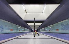 Munich, Subway Station Gern.