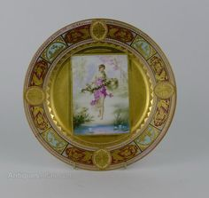 Antiques Atlas - 19th Century Royal Vienna Cabinet Plate