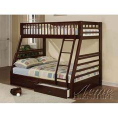 Giường Acme 2 tầng màu nâu,hàng xuất khẩu Châu Âu( Mẹ bồng con) | TutiCare.com