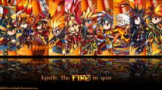 Brave Frontier fire units