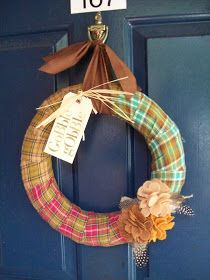 Twigs and Twirls: Thanksgiving Wreath
