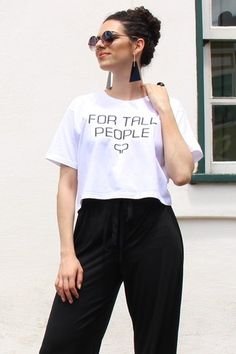 Camiseta For Tall People Para pessoas altas