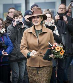 Koningin Maxima opent Nationale Onderwijstentoonstelling