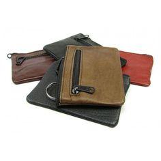 Kožená klíčenka barevná - peněženky AHAL