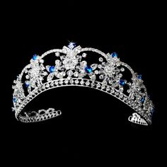 Love this Turquoise Crystal Quinceanera Mis Quince Anos Tiara