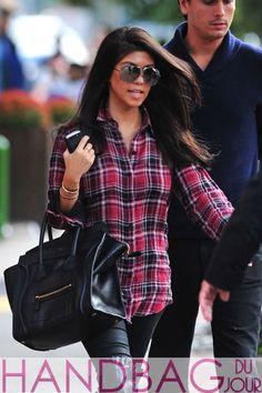Kourtney-Kardashian-black-Celine-Luggage-Tote-and-Scott-Disick-leave-Bar-Pitti-in-New-York-City