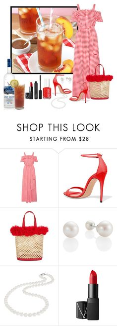 """""""Drinks On Me!"""" by aharcaki ❤ liked on Polyvore featuring Draper James, Nannacay, Nadri and NARS Cosmetics"""
