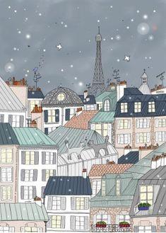 Paris, Tour Eiffel par Biggs Amélie