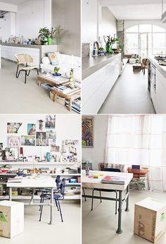 i could live here: a bohemian loft in amsterdam. / sfgirlbybay