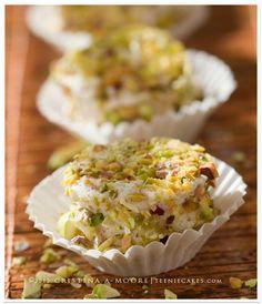 Chai spiced pistachio marshmallows