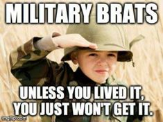 I don't like to call Audrey an Army Brat, but she is one awesome Army kid!!