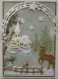 De Hobbyschuur: Winter/Kerstkaarten