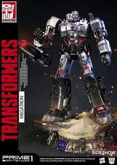 Prime 1 Studio have sent out new product details and images of their upcoming Transformers Generation 1 Megatron Statue. Right now, you can pre-order their upcoming Transformers Generation 1 Optimus Prime Statue. Transformers Generation 1, Transformers Action Figures, Transformers Movie, Transformers Optimus Prime, Sideshow Collectibles, Cartoon Pics, Cool Toys, Awesome Toys, Comic Art