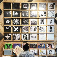 The selection is  at @uolosangeles. #UOMusic #ForTheRecord #UODisplay