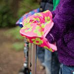 Scooterearz a children's handwarmer/mitt/glove for Micro and all makes of scooters Kids Scooter, Hand Warmers, Gloves, Outdoor Decor, How To Make, Mittens