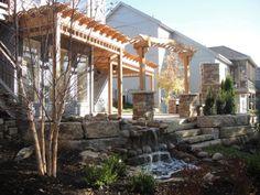 pergolas patios and landscaping