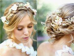 penteados para noivas de lado - Pesquisa Google