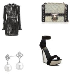 """""""Untitled #88"""" by iammissdaysha on Polyvore featuring Balmain and Blue Nile"""