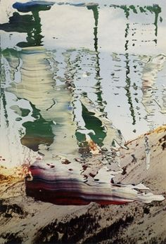 Untitled (21.2.91) » Winter » Overpainted Photographs » Art » Gerhard Richter