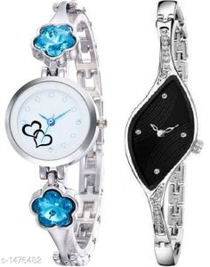 Watches Classy Women's Watch Combo Material: Metal Size: Free Size Type: Analog Description: It Has 2 Pieces Of Women's Watch Country of Origin: India Sizes Available: Free Size   Catalog Rating: ★4 (431)  Catalog Name: Stylish Classy Women's Watches Combo Vol 3 CatalogID_191684 C72-SC1087 Code: 743-1476482-