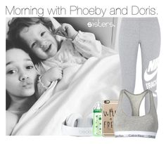 """Morning with Phoeby and Doris."" by cheekyxtommo ❤ liked on Polyvore featuring NIKE, Casetify and Calvin Klein"