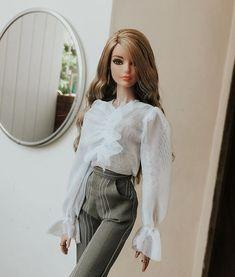 Barbie Van, Barbie And Ken, Barbie Style, Fashion Dolls, Fashion Art, Fashion Outfits, Style Fashion, Poppy Doll, Barbie Basics