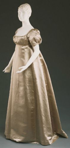 Wedding dress ca. 1809 From the Philadelphia Museum of Art