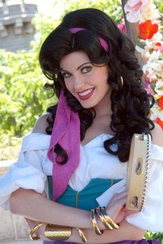 Esmeralda Face Character - Disney's Hunchback of Notre Dame
