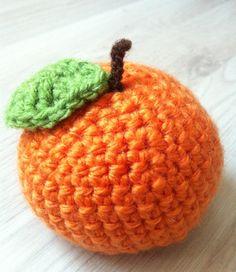 Orange Amigurumi