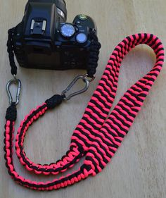 Handmade Paracord Camera Strap  Trilobite Bar by RainyDayzArt, $40.00 #ParacordCameraStraps #Gift #CameraAccessories