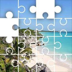 Tulum Mexico Jigsaw Puzzle, 48 Piece Classic.