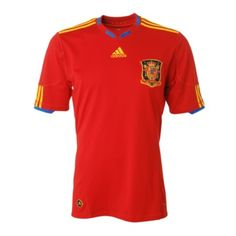 Men's FIFA World Cup 2010 Spain Home Soccer Jersey