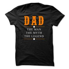 DAD T-Shirt http://www.sunfrogshirts.com/Funny/DAD-Black-47796419-Guys.html?43441