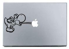 Yoshi Macbook Decal Sticker // Etsy
