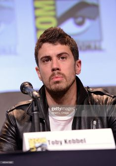 Actor Toby Kebbell of 'Fantastic Four' speaks onstage at the 20th Century FOX panel during Comic-Con International 2015 at the San Diego Convention Center on July 11, 2015 in San Diego, California.