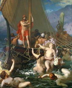 Οδυσσέας και Σειρήνες 1867