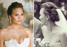 maybe nice makeup and hair? Chrissy Teigen